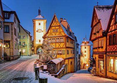 Plönlein im Winter©Rothenburg Tourismus Service, WPfitzinger, Exkl