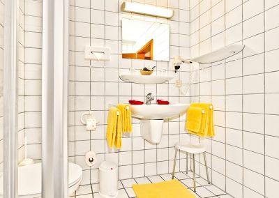Badezimmer-Hotel-Merian