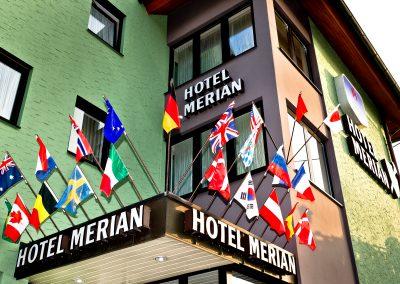 Eingangsbereich Hotel Merian