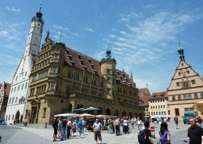 Rothenburger Rathaus am Marktplatz