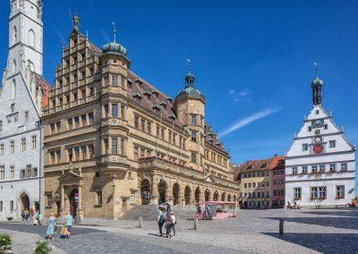 Marktplatz©Rothenburg Tourismus Service, W. Pfitzinger, Exkl.; RTS412