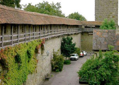 Rothenburg-Stadtmauer